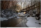 Creek of Flarup - Flarup creek in winter