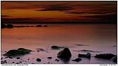 Flesnurg Fjord - Sunset at the Fjord of Flensburg