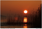 Sunset - Sunset at the Schlei