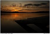 - Sunset at the Lake Försjön in Sweden