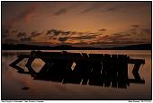 - Sunset at lake Försjön in Sweden